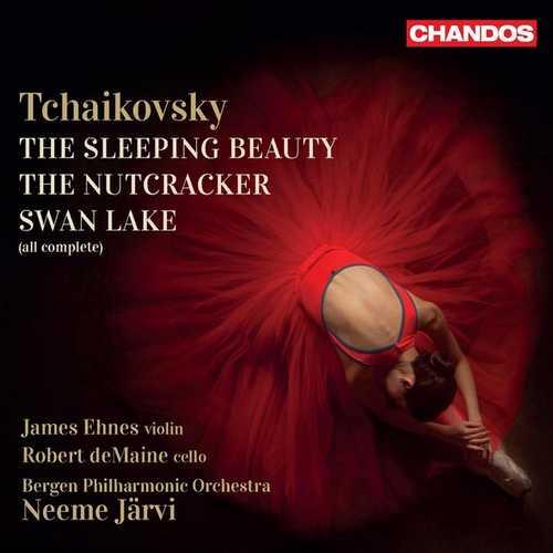 Ehnes, deMaine, Järvi: Tchaikovsky - The Sleeping Beauty, The Nutcracker, Swan Lake (24/96 FLAC)