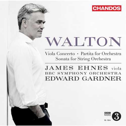 Ehnes: Walton - Viola Concerto, Partita for Orchestra, Sonata for String Orchestra (24/96 FLAC)