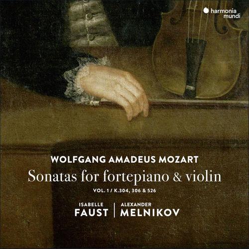 Faust, Melnikov: Mozart - Sonatas for Fortepiano & Violin vol.1 (24/96 FLAC)