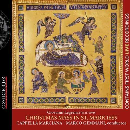 Gemmani: Legrenzi - Christmas Mass in St. Mark 1685 (24/96 FLAC)