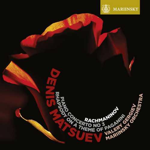 Matsuev, Gergiev: Rachmaninov - Piano Concerto no.3, Rhapsody On a Theme of Paganini (24/96 FLAC)