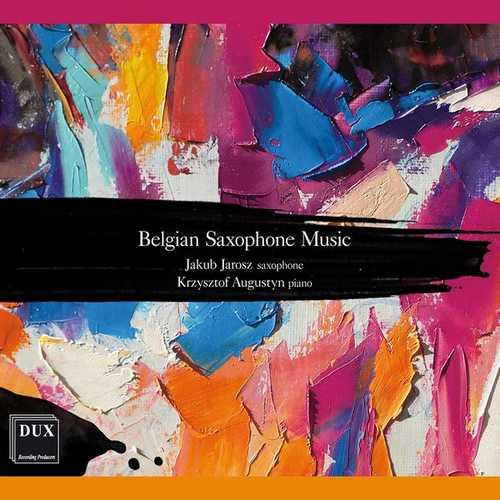 Jakub Jaroz, Krzysztof Augustyn: Belgian Saxophone Music (FLAC)