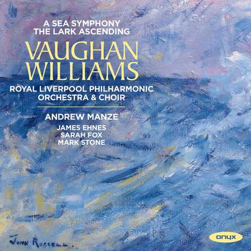 Manze: Vaughan Williams - Lark Ascending, A Sea Symphony (24/192 FLAC)