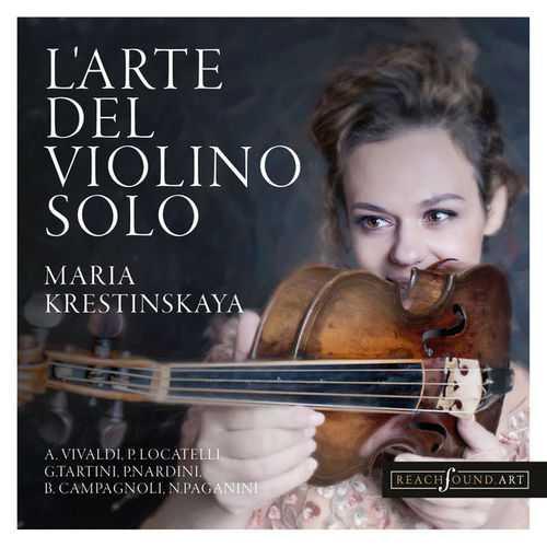 Maria Krestinskaya: L'arte del Violino Solo (24/96 FLAC)