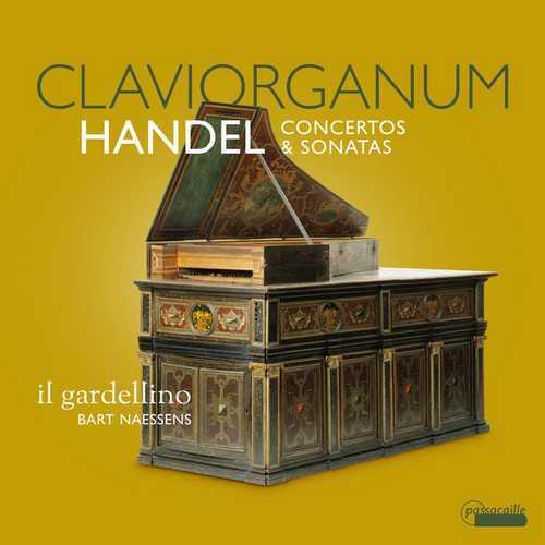 Naessens: Handel - Claviorganum. Concertos & Sonatas (24/88 FLAC)