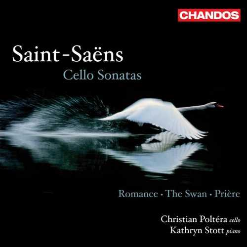 Poltéra, Stott: Saint-Saëns - Cello Sonatas, Romance, The Swan, Prière (24/96 FLAC)