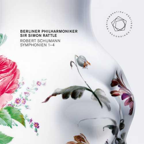 Rattle: Schumann - Symphonien 1-4 (24/96 FLAC)