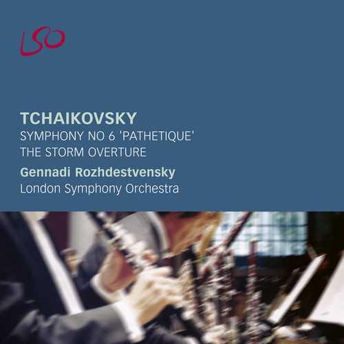 """Rozhdestvensky: Tchaikovsky - Symphony no.6 """"Pathétique"""", The Storm Overture (FLAC)"""