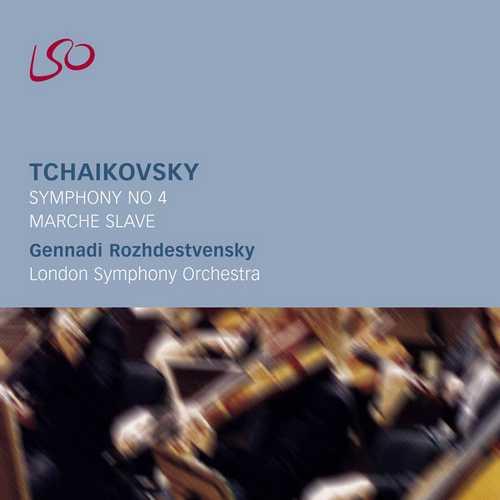 Rozhdestvensky: Tchaikovsky - Symphony no.4, Marche Slave (FLAC)