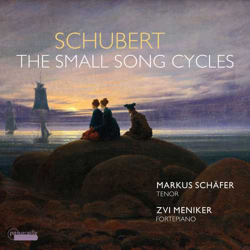 Schäfer, Meniker: Schubert - The Small Song Cycles (24/96 FLAC)