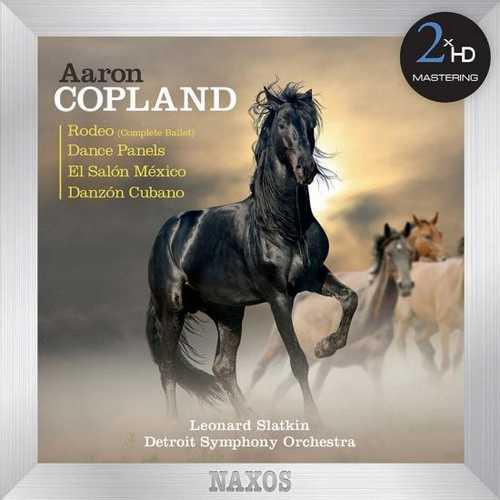 Slatkin: Copland - Rodeo, Dance Panels, El Salon Mexico, Danzon Cubano (24/192 FLAC)