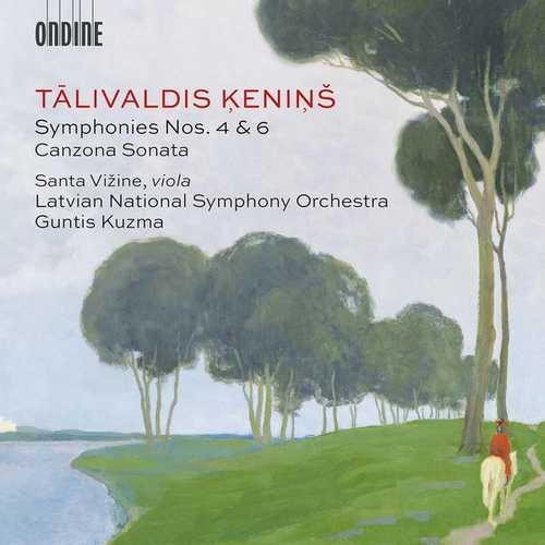 Kuzma: Ķeniņš - Symphonies no.4 & 6, Canzona Sonata (24/96 FLAC)