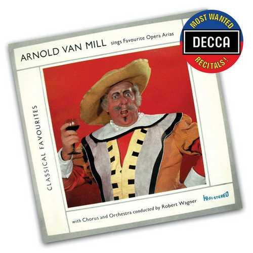 Arnold Van Mill sings Favourite Opera Arias (FLAC)
