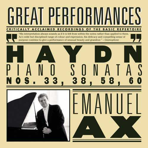 Ax: Haydn - Piano Sonatas no.33, 38, 58 & 60 (FLAC)