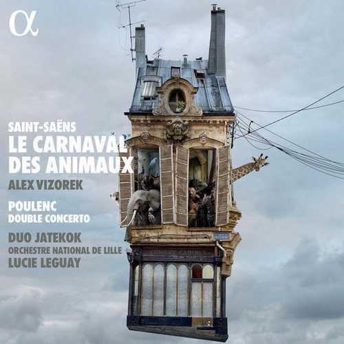Duo Jatekok: Saint-Saëns - Le Carnaval des Animaux, Poulenc - Double Concerto (24/96 FLAC)