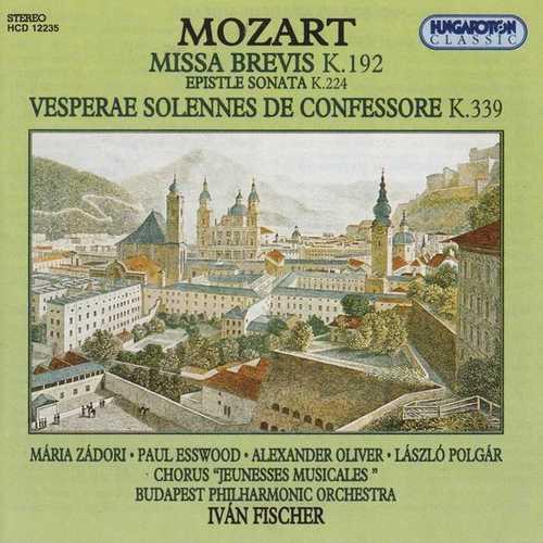Zádori: Mozart - Missa Brevis, Epistle Sonata, Vesperae Solennes de Confessore (FLAC)
