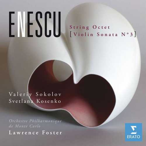 Sokolov, Kosenko, Foster: Enescu - String Octet, Violin Sonata no.3 (FLAC)