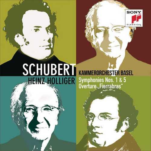 Holliger: Schubert - Symphonies no.1 & 5, Fierrabras Overture (24/96 FLAC)