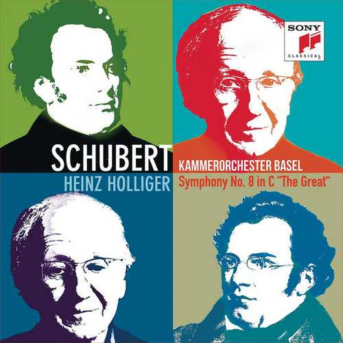 """Holliger: Schubert - Symphony no.8 """"The Great"""" (24/96 FLAC)"""