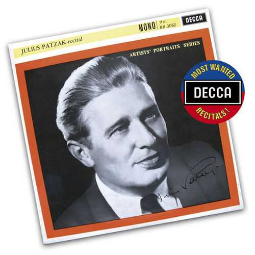 Julius Patzak - Recital (FLAC)