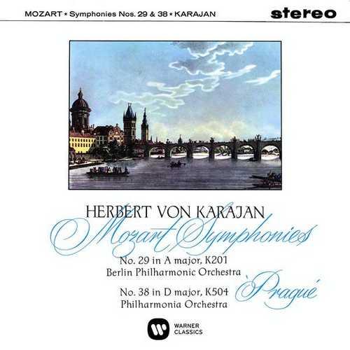 Karajan: Mozart - Symphonies no.29 & 38 (24/96 FLAC)
