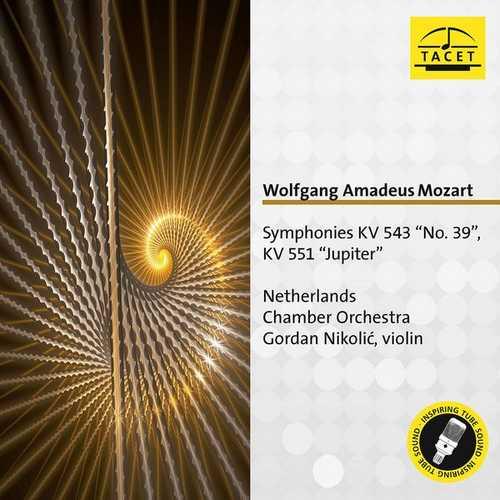 Nikolić: Mozart - Symphonies no.41 & 39 (FLAC)