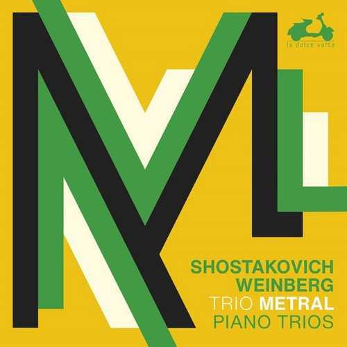 Trio Metral: Shostakovich, Weinberg - Piano Trios (24/96 FLAC)