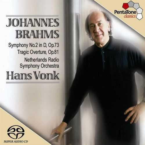 Vonk: Brahms - Symphony no.2, Tragic Overture (24/96 FLAC)