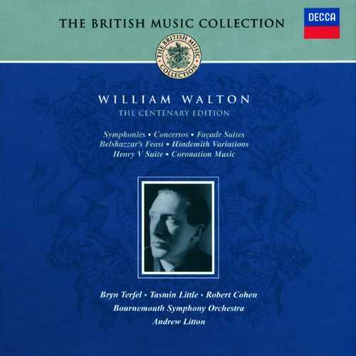Willian Walton - The Centenary Edition (FLAC)