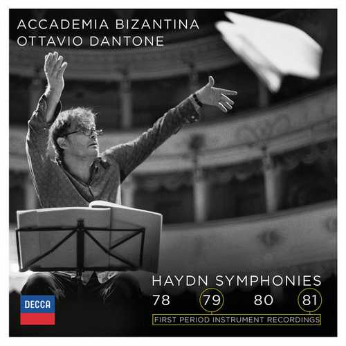 Accademia Bizantina: Haydn - Symphonies 78, 79, 80, 81 (24/96 FLAC)