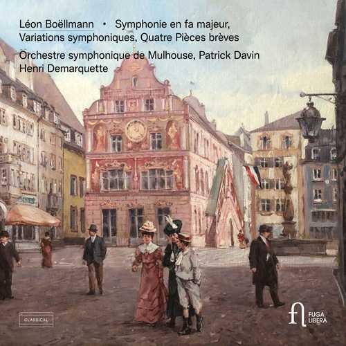 Boëllmann: Symphonie en Fa Majeur, Variations Symphoniques, Quatre Pièces Brèves (24/88 FLAC)