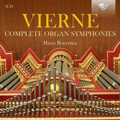 Boerema: Vierne - Complete Organ Symphonies (FLAC)