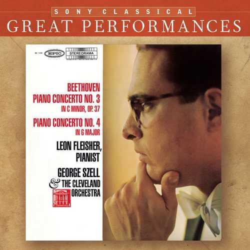 Fleisher: Beethoven - Piano Concerto no.3 & 4 (FLAC)