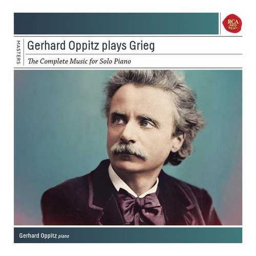 Gerhard Oppitz plays Grieg. The Complete Music for Solo Piano (FLAC)