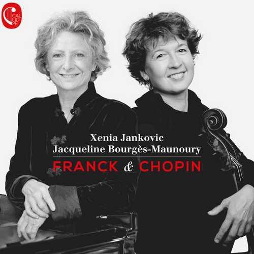Xenia Jankovic, Jacqueline Bourgès-Manoury: Franck & Chopin (24/48 FLAC)