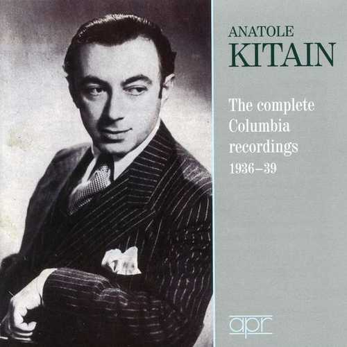 Anatole Kitain: The Complete Columbia Recordings 1936-1939 (FLAC)