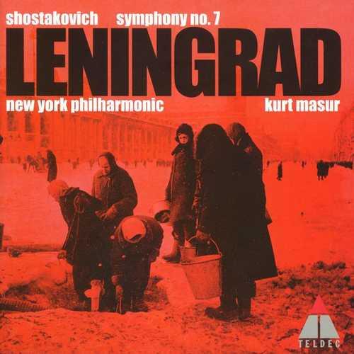 Masur: Shostakovich - Symphony no.7 Leningrad (FLAC)