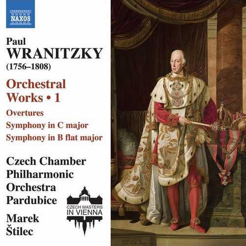 Štilec: Wranitzky - Orchestral Works vol.1 (24/96 FLAC)