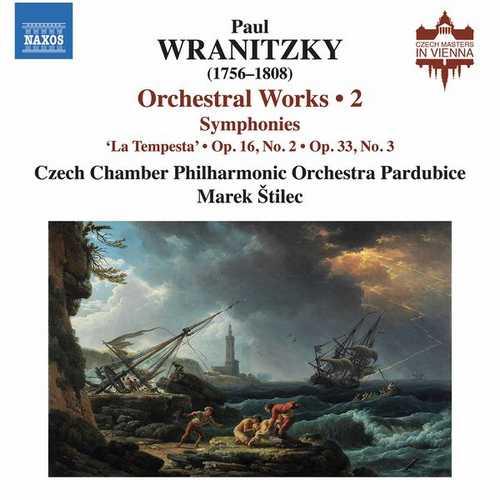 Štilec: Wranitzky - Orchestral Works vol.2 (24/96 FLAC)