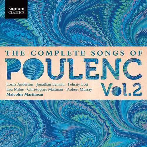 The Complete Songs of Francis Poulenc vol.2 (24/44 FLAC)