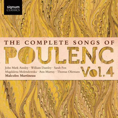 The Complete Songs of Francis Poulenc vol.4 (24/48 FLAC)