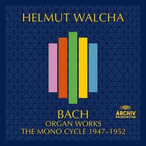 Helmut Walcha: Bach - Organ Works. The Mono Cycle 1947-1952 (FLAC)