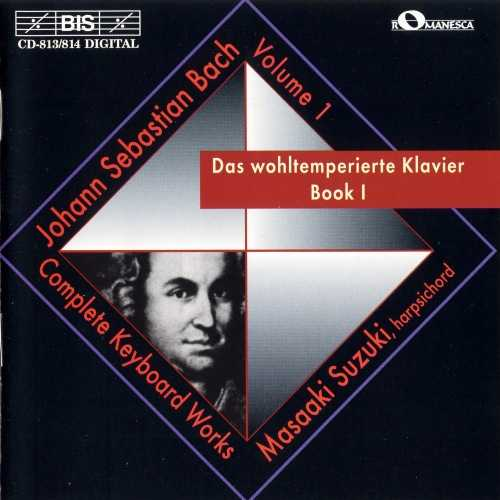 Suzuki: Bach - Complete Keyboard Works vol.1, Well-Tempered Clavier Book 1 (2 CD, FLAC)