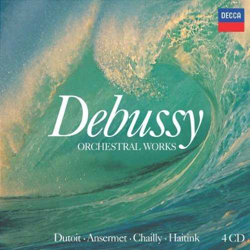 Debussy - Orchestral Works (4 CD box set, FLAC)