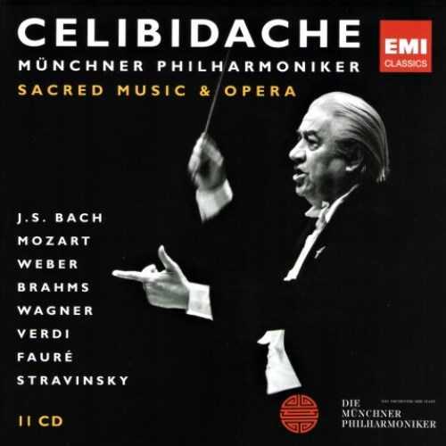 Celibidache - Sacred Music & Opera (11 CD box set, FLAC)