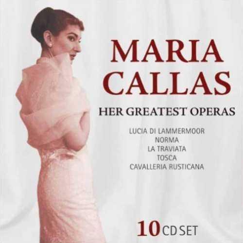 Maria Callas - Her Greatest Operas (10 CD box set, FLAC)