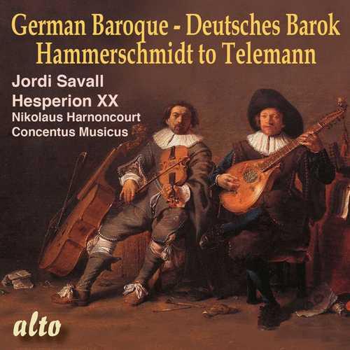 Savall, Harnoncourt: German Baroque - Deutsches Barok. Hammerschmidt to Telemann (24/44 FLAC)