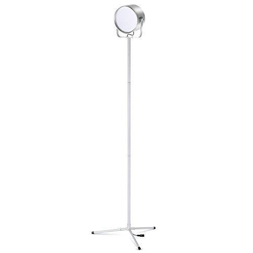 Albrillo LED StehlampeStehleuchte E27 Stehlampe Modell Tube Wohnzimmerlampe Wohnraumbeleuchtung Standlampe