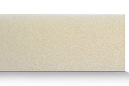 Mister Sandman C_0044_Visco Matratzenauflage ohne Bezug, Topper für Matratze und Boxspringbett Made in Germany, ÖKO-Tex Zertifiziert, für Rollmatratze und Zonen Kaltschaummatratze geeignet, Härtegrad