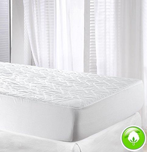Velfont Baumwolle Matratzenauflage Unterbett in verschiedenen Größen.